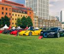 London Concours 2021 Ends with Spectacular 'Supercar Day'