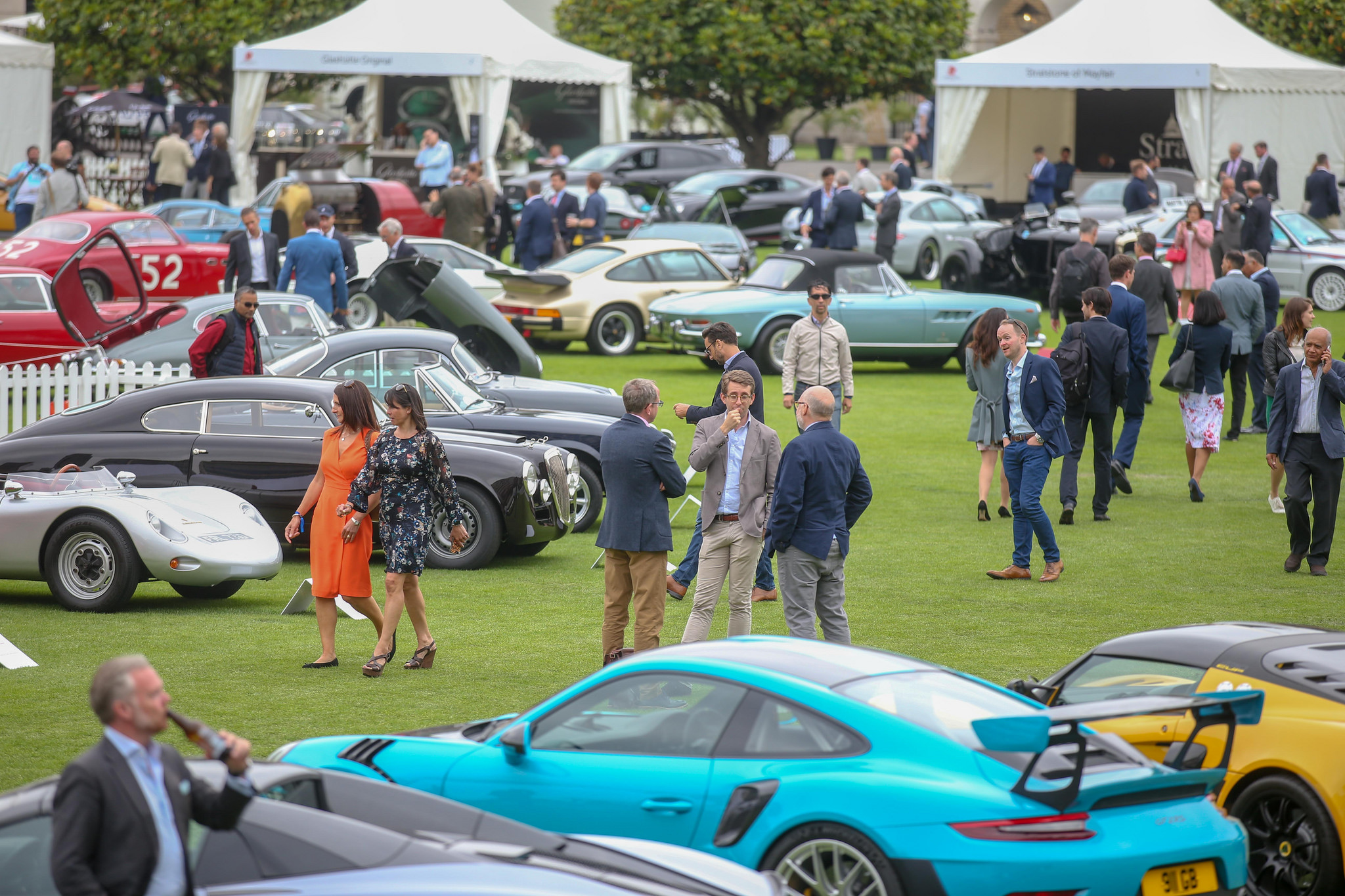 London Concours 2018: Champagne, Supercars and Sunshine