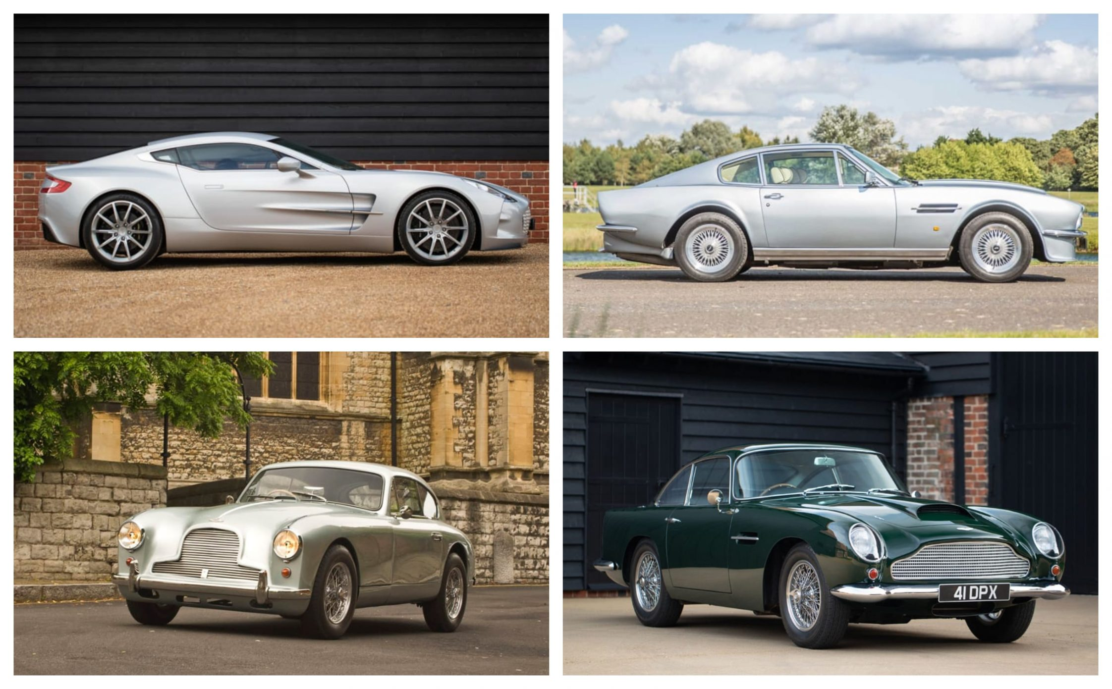 Aston Martin's Finest on Display at London Concours 2020