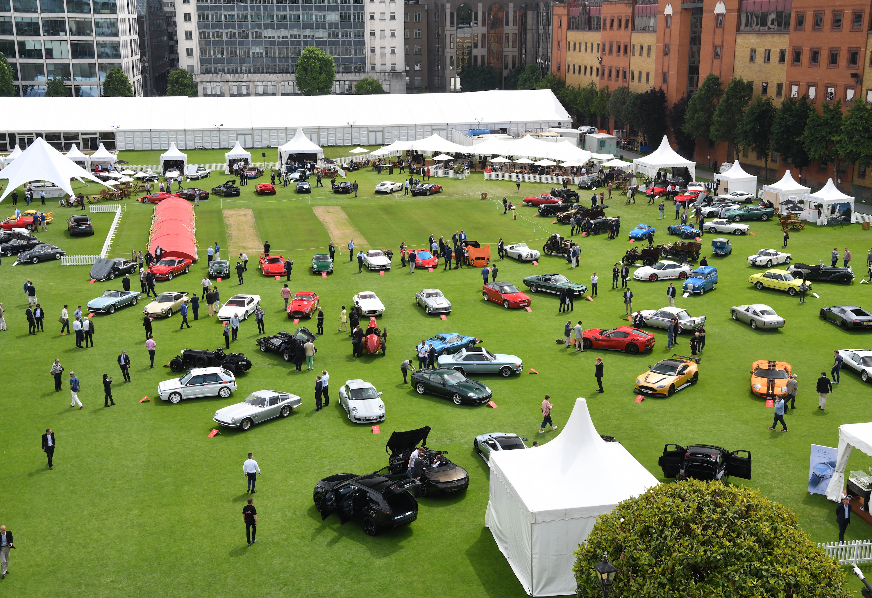 London Concours Celebrates Glorious Opening Day