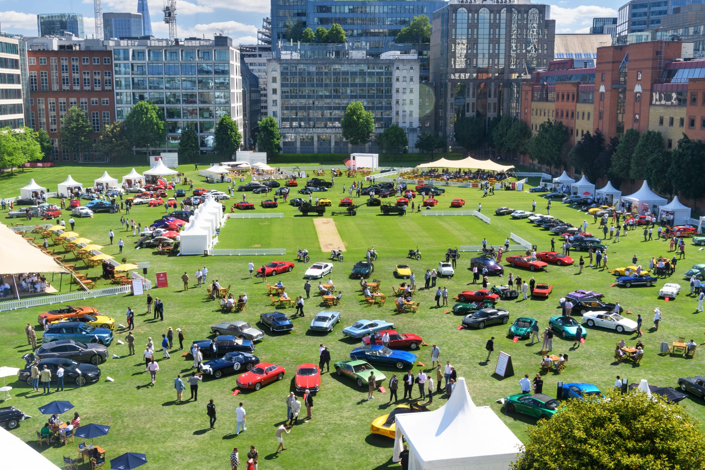 London Concours 2021 Celebrates Glorious First Day