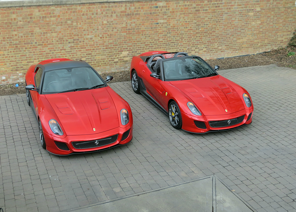 Romans International: Four Rare Ferraris Coming to City Concours
