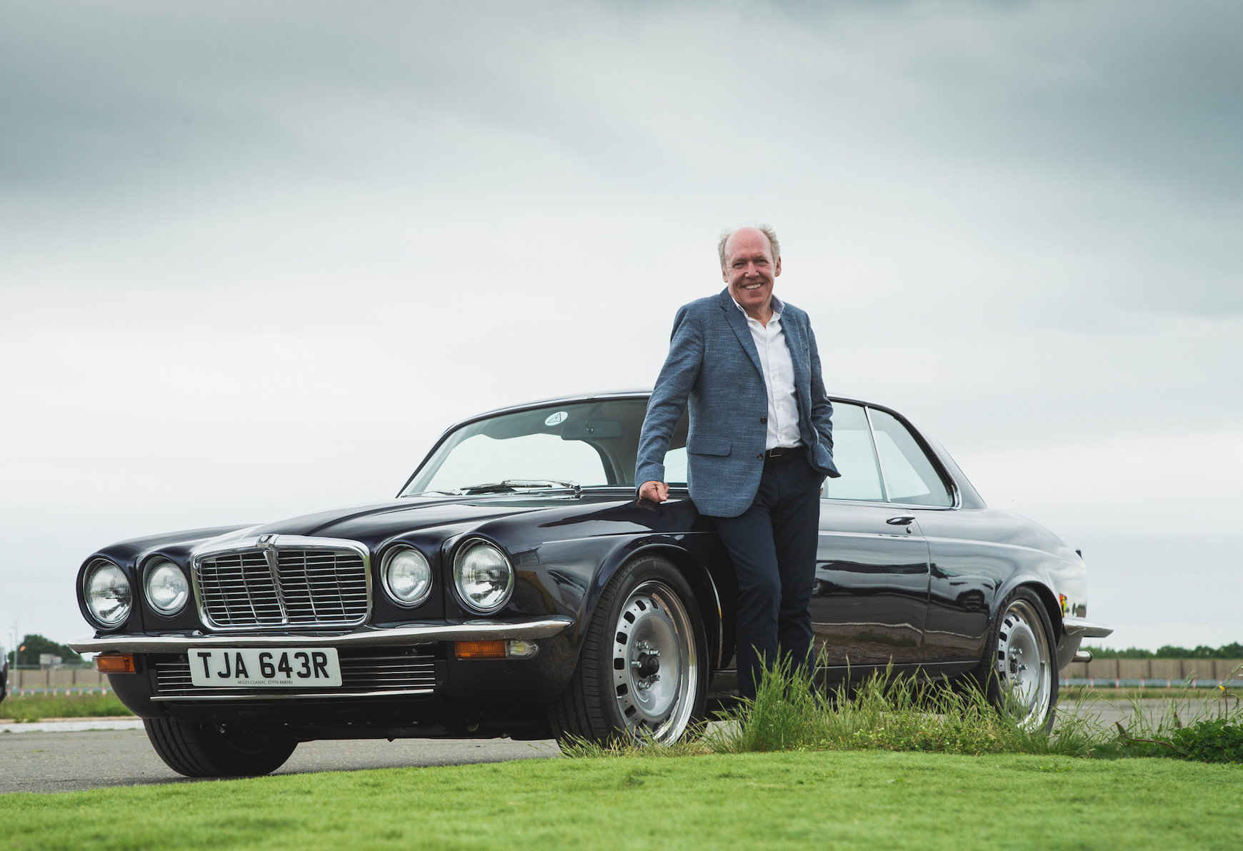London Concours Celebrates Ian Callum in 'The Collector' Feature